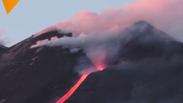 Ерупција Етне - Sputnik Србија
