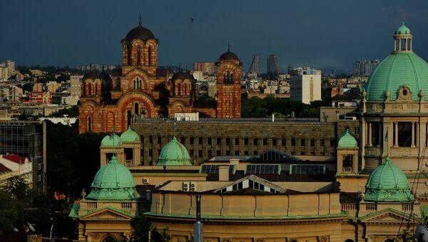 Pogled na Beograd - Sputnik Srbija