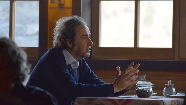 Italijanski reditelj Paolo Sorentino na Kustendorfu - Sputnik Srbija