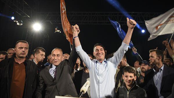 Ramuš Haradinaj i Kadri Veselji - Sputnik Srbija