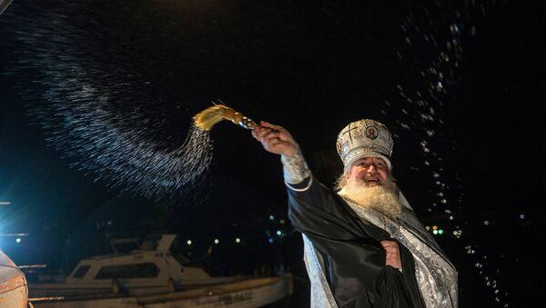 Epiphany feast in Russian cities - Sputnik Србија