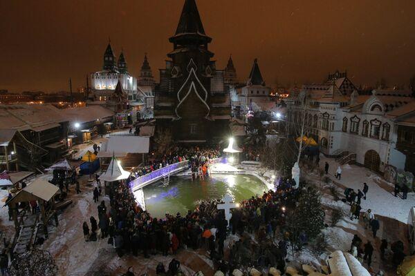To je taj ruski duh: Kako je proslavljeno Bogojavljenje u Rusiji - Sputnik Srbija