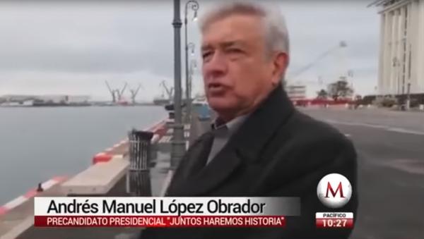 Meksički političar Andres Manuel Lopes Obrador - Sputnik Srbija