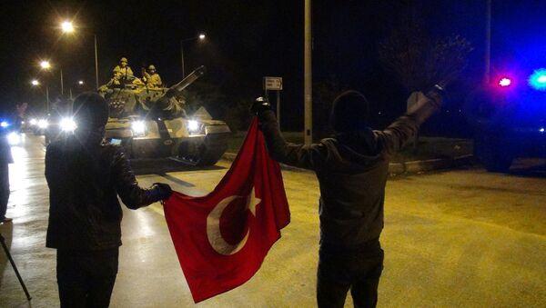 Турске трупе у пограничној турској провинцији Хатај - Sputnik Србија