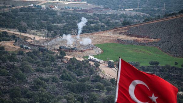 Турска артиљерија гранатира курдске снаге на положајима у близини сиријско-турске границе - Sputnik Србија