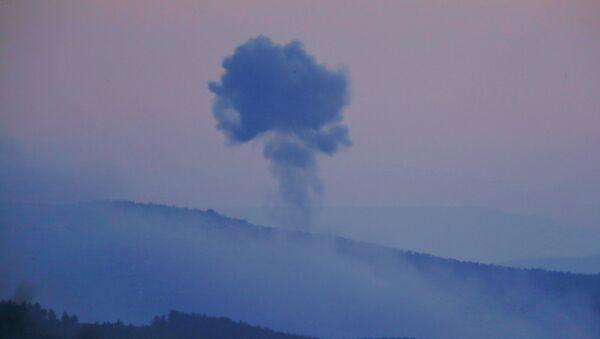 Pogled na sirijsku provinciju Afrin iz turske provincije Kilis - Sputnik Srbija