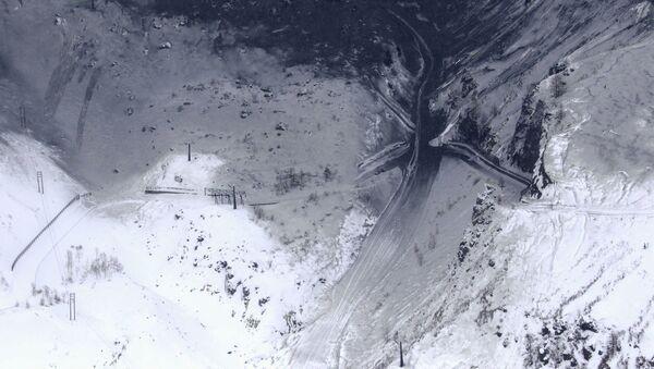 Планинска падина прекривена вулканским пепелом са вулкана Кусатсуширане северозападно од Токија - Sputnik Србија