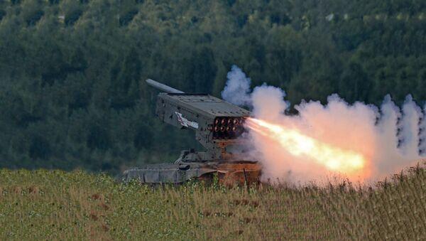 Raketni sistem TOS 1 - Sputnik Srbija