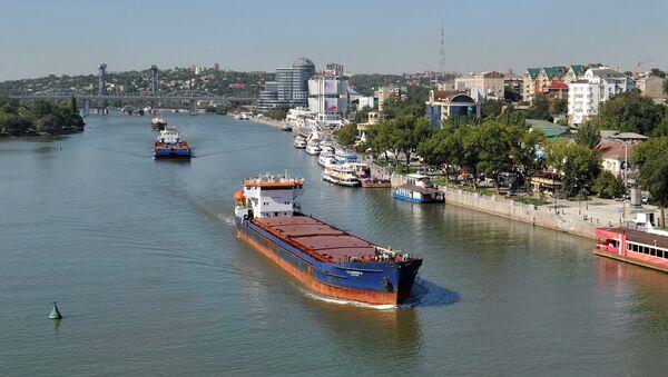 Brodovi na Donu, Rostov-na-Donu - Sputnik Srbija