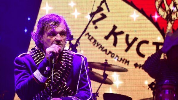 Емир Кустурица на концерту - Sputnik Србија