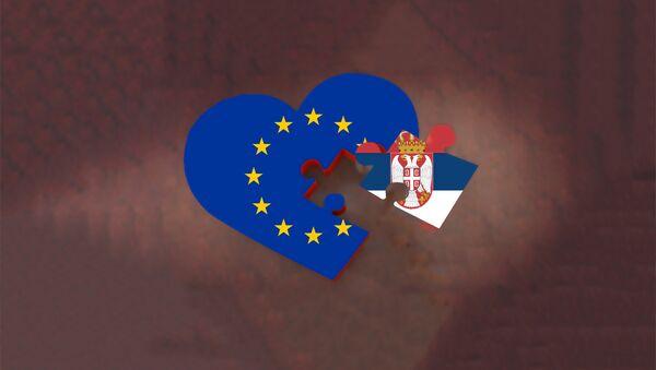 ЕУ и Србија - илустрација - Sputnik Србија