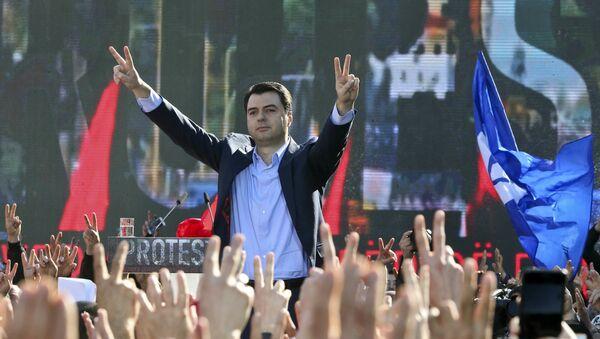 Lider albanske opozicije Ljuljzim Baša - Sputnik Srbija