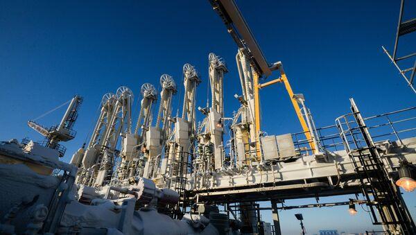 Пристаниште за утовар и истовар у новоизграђеној фабрици за производњу течног природног гаса Јамал - Sputnik Србија