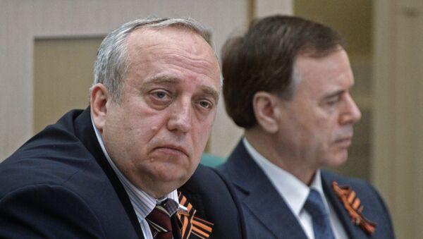 Први заменик председавајућег Одбора за одбрану и безбедност Савета Федерације Русије Франц Клинцевич - Sputnik Србија