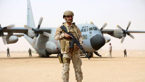 Војник Саудијске Арабије на Јемену - Sputnik Србија
