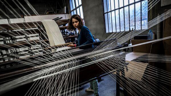 Proizvodnja tekstila - ilustracija - Sputnik Srbija