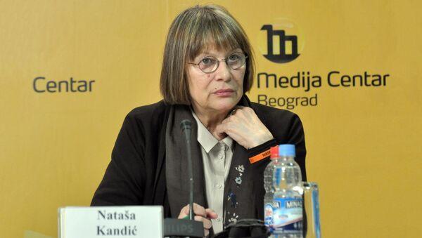 Наташа Кандић - Sputnik Србија