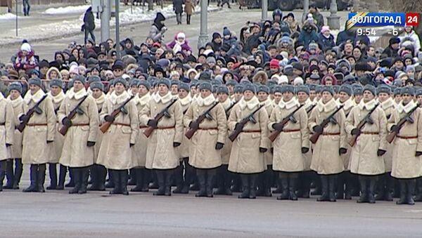 Vojna parada povodom obeležavanja Staljingradske bitke - Sputnik Srbija