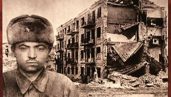 Поручник Павлов и Кућа Павлова коју је током Стаљинградске битке бранила група бораца - Sputnik Србија
