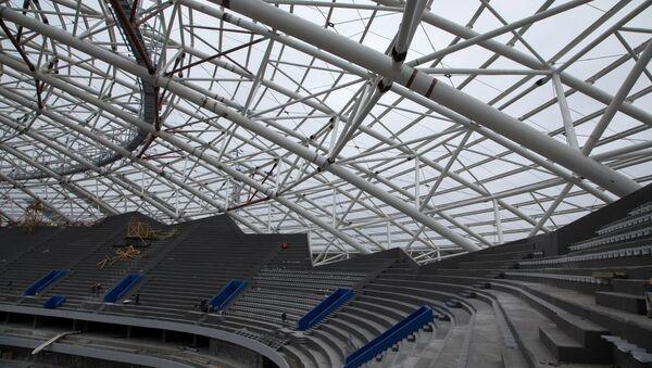 Stroitelьstvo stadiona Samara Arena - Sputnik Srbija
