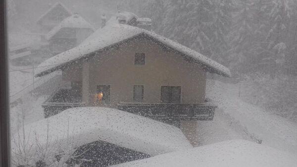 Делнице у Хрватској затрпане снегом - Sputnik Србија