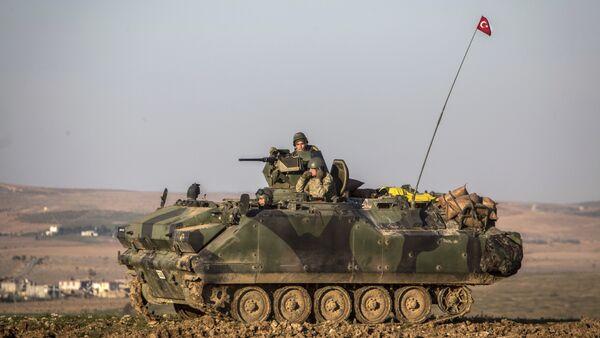 Tank turske vojske u Siriji - arhivska fotografija - Sputnik Srbija