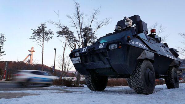 Vojska Južne Koreje obezbeđuju Zimske olimpijske igre - Sputnik Srbija