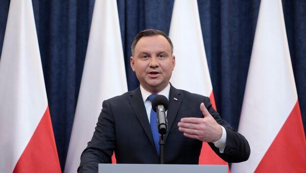Poljski predsednik Andžej Duda - Sputnik Srbija