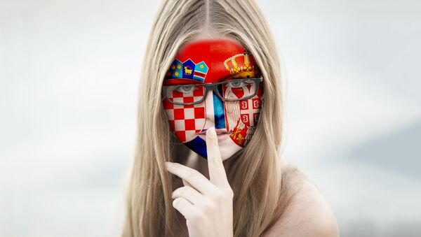 Србија Хрватска илустрација - Sputnik Србија