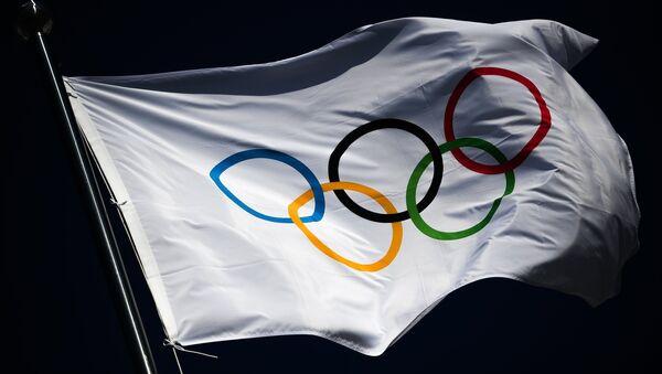 Олимпијска застава у Пјонгчангу - Sputnik Србија