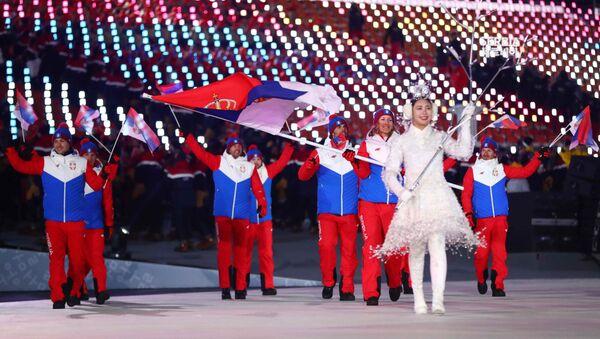 Српски олимпијци у Пјонгчангу - Sputnik Србија