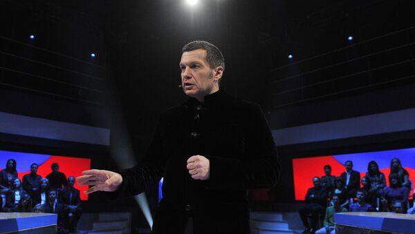 Ruski televizijski voditelj Vladimir Solovjov - Sputnik Srbija