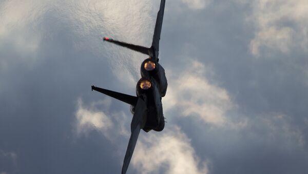 Avion izraelskih vazduhoplovnih snaga F-15 - Sputnik Srbija