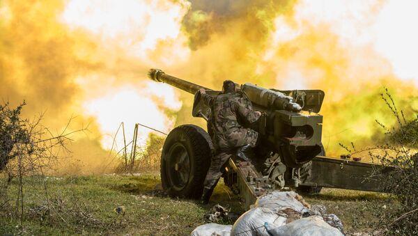 Sirijska vojska u Idlibu - Sputnik Srbija