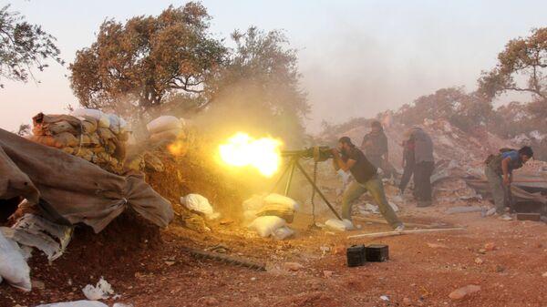 Teroristi u Idlibu - Sputnik Srbija
