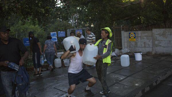 Снабдевање водом у Кејптауну - Sputnik Србија