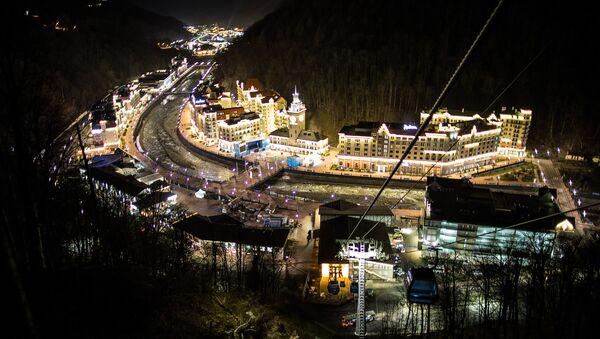 Хотелски комплекс Роза Хутор у Красној пољани, Сочи - Sputnik Србија