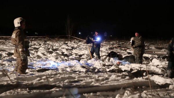 Место пада авиона Ан-148 - Sputnik Србија