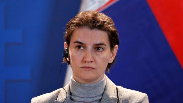 Премијерка Србије Ана Брнабић - Sputnik Србија