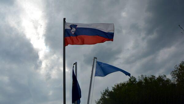 Заставе Словеније и ЕУ  - Sputnik Србија