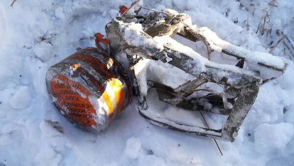 Jedna od crnih kutija sa aviona An-148 koji se srušio u Podmoskovlju - Sputnik Srbija