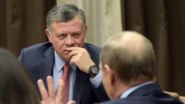 Абдулах други и Владимир Путин - Sputnik Србија