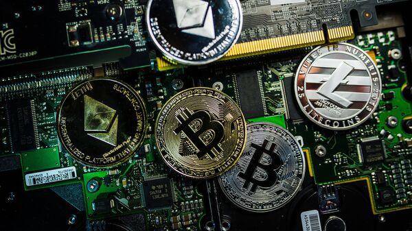 Kriptovalute bitkoin, lajtkoin i etereum - Sputnik Srbija