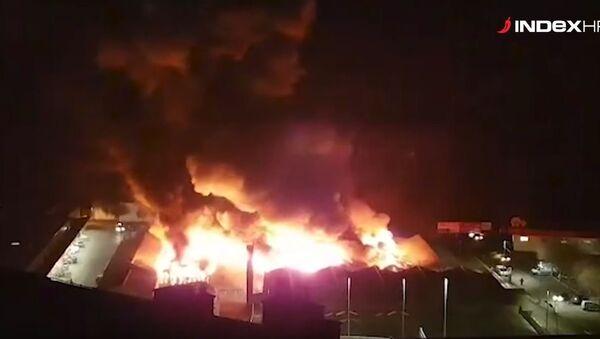 Пожар у Ријеци - Sputnik Србија