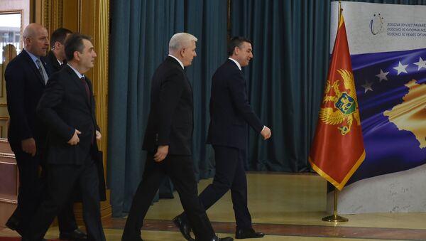 Premijer Crne Gore Duško Marković u poseti Prištini - Sputnik Srbija