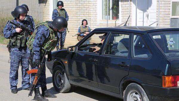 Припадници полиције у Дагестану - Sputnik Србија