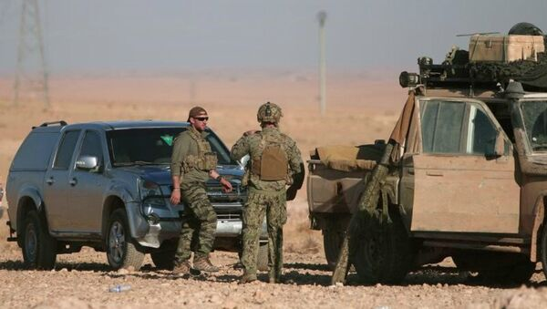 Američki vojnici u Siriji - Sputnik Srbija