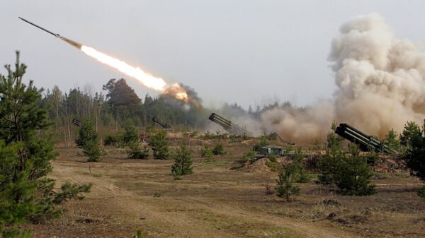 Vojne vežbe ruskih artiljeraca - Sputnik Srbija