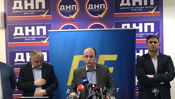 Конференција за новинаре ДФ-а - Sputnik Србија