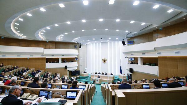 Zasedanje Saveta Federacije Rusije - Sputnik Srbija